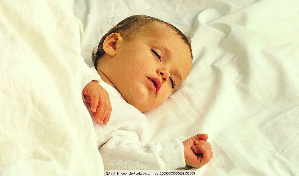 熟睡中的宝宝 可爱 人物图库 儿童幼儿 摄影图库