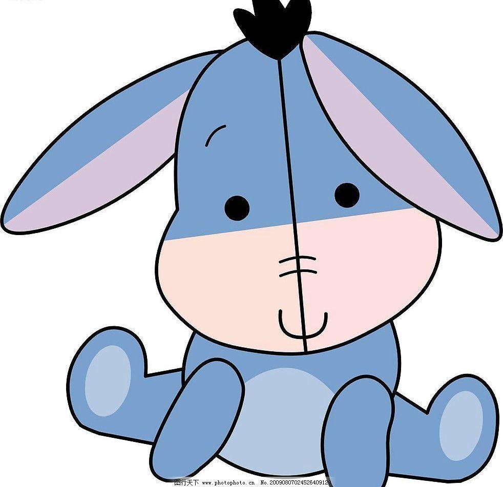 q版小兔 兔 q版 动物 生物 矢量图 生物世界 野生动物 家禽家畜 矢量