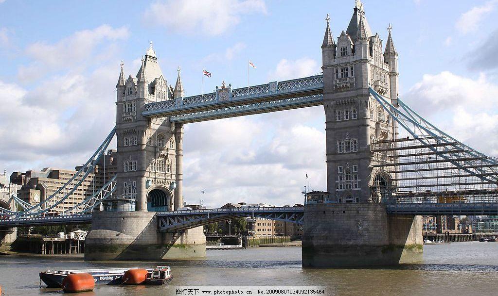 英国伦敦塔桥 摄影 风景