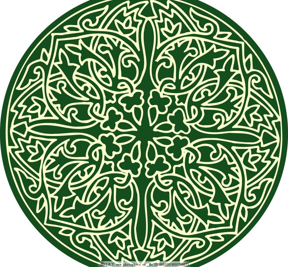 平面花纹图花鸟图案工笔造型工艺美术民间艺术纺织花纹工艺雕花图片