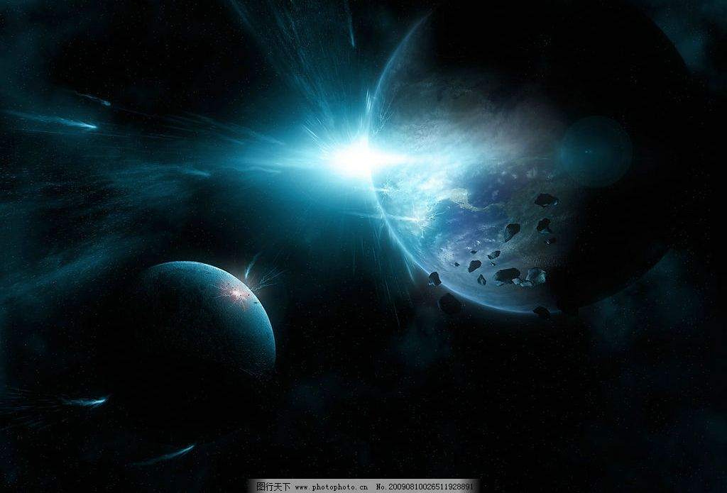 星球背景图片