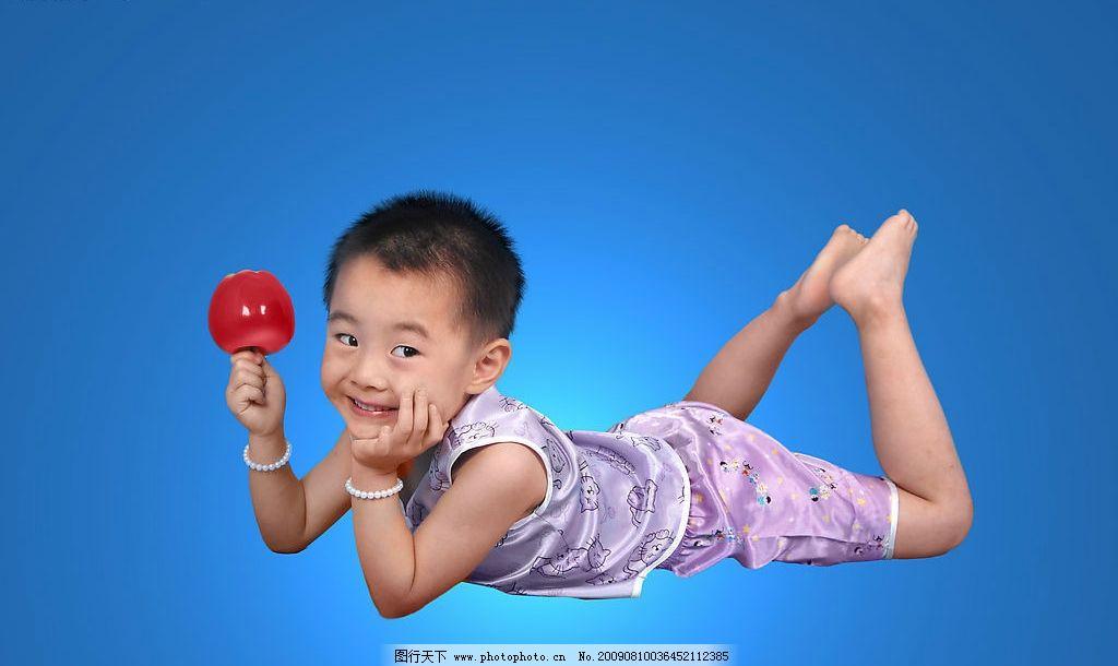 儿童写真 儿童 少儿 苹果 写真 姿势 可爱 天真 宝贝 人物图库 儿童