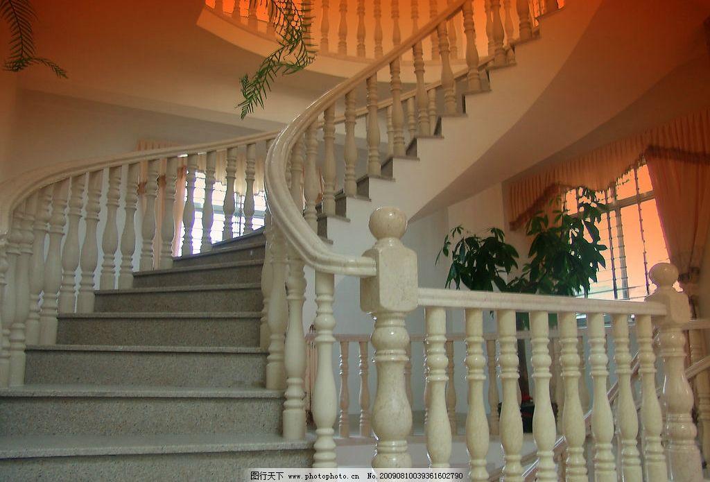 建筑圆形楼梯徽派建筑楼梯布局图片7