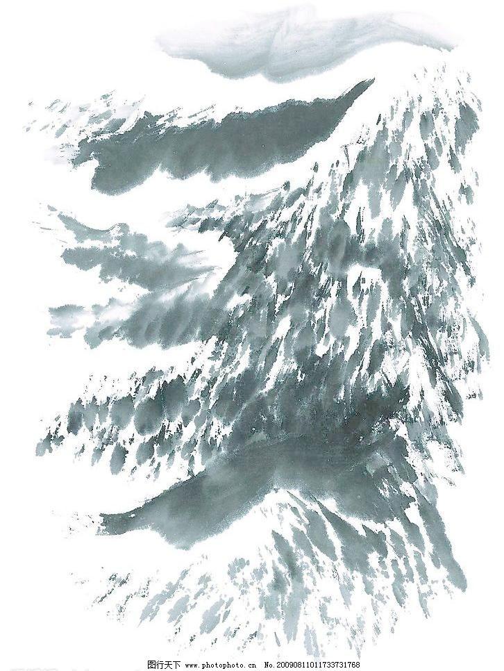 水墨山水画模板下载 水墨山水画 水墨画 山水画 国画 风景画 文化艺术