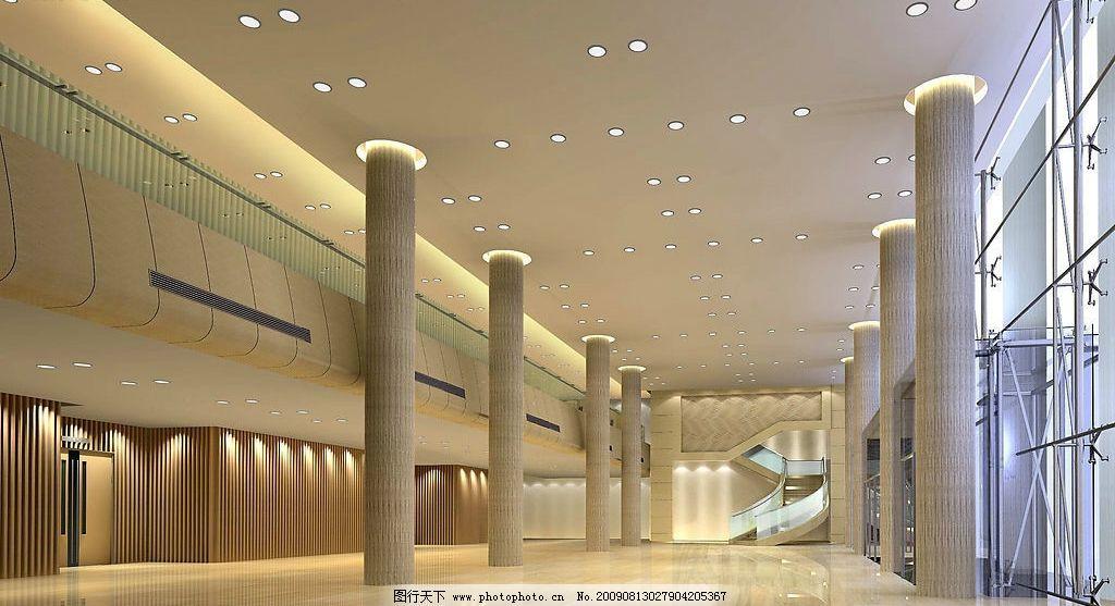 大廳效果圖 大堂效果圖 大堂        現代風格設計 環境設計 室內設計