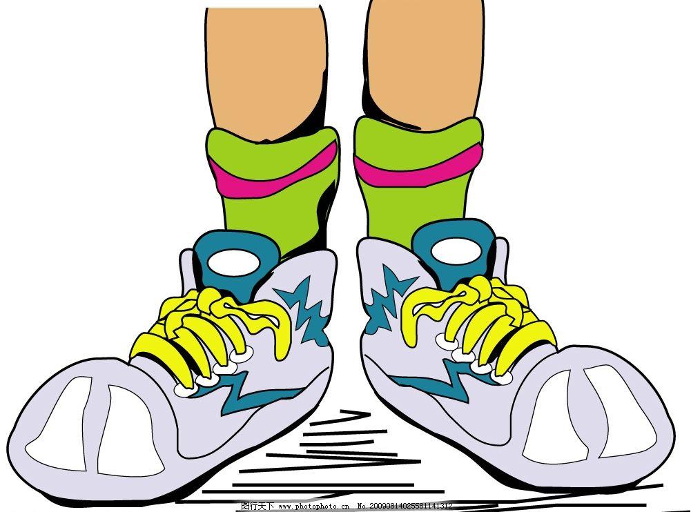 卡通 漫画 头像 鞋