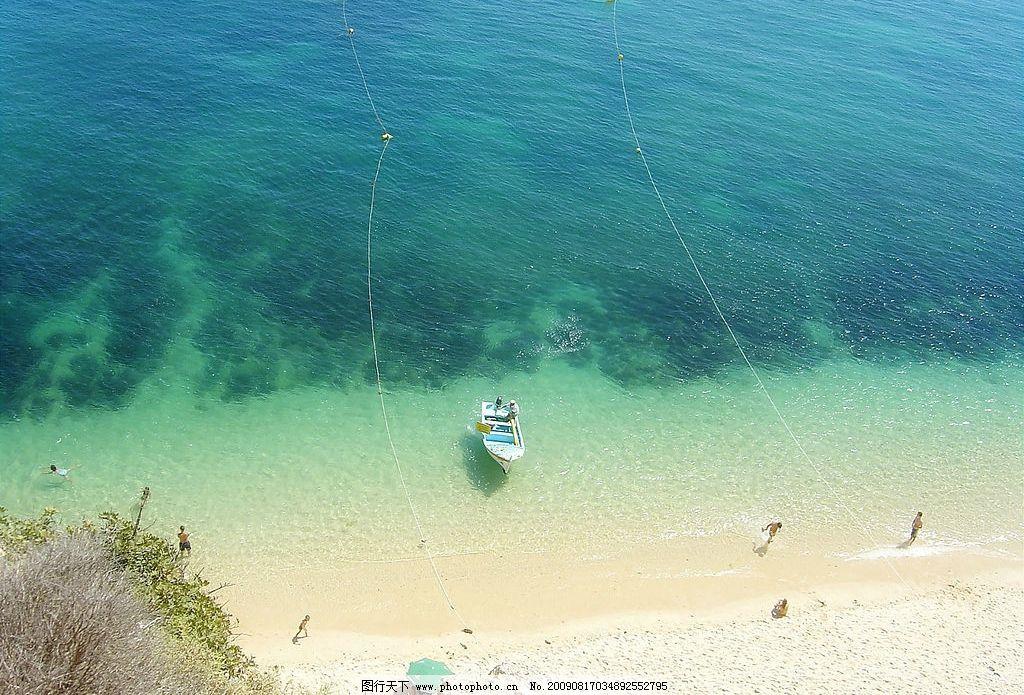 海边景色图片,美丽风景 沙滩 海水 人物 摄影图库-图