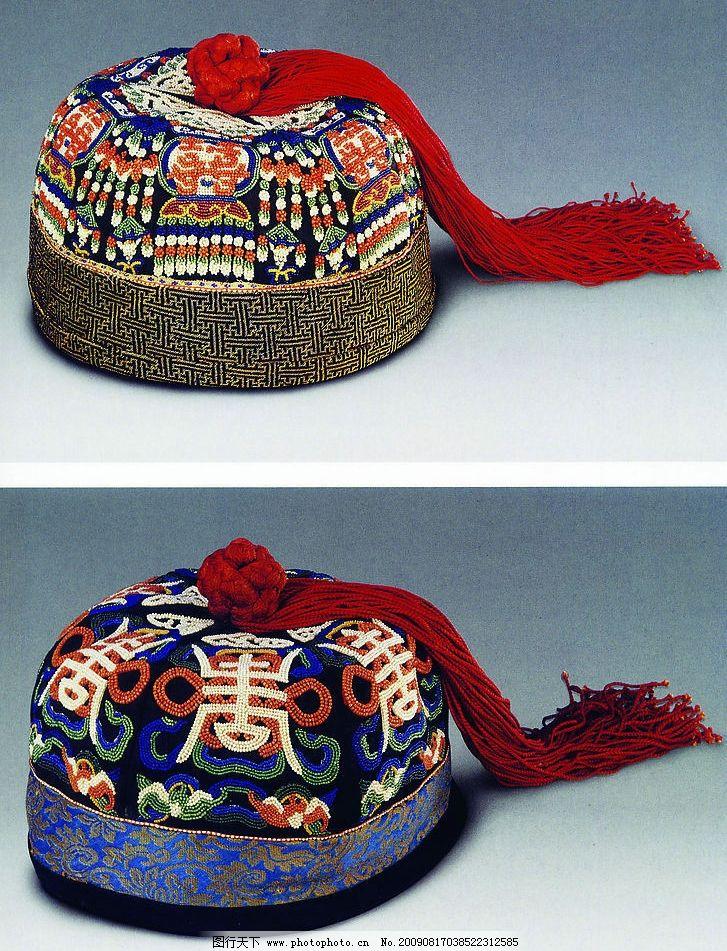 绣花帽子 帽子 绣花 传统 纹样 民间艺术 文化艺术 传统文化 摄影图库
