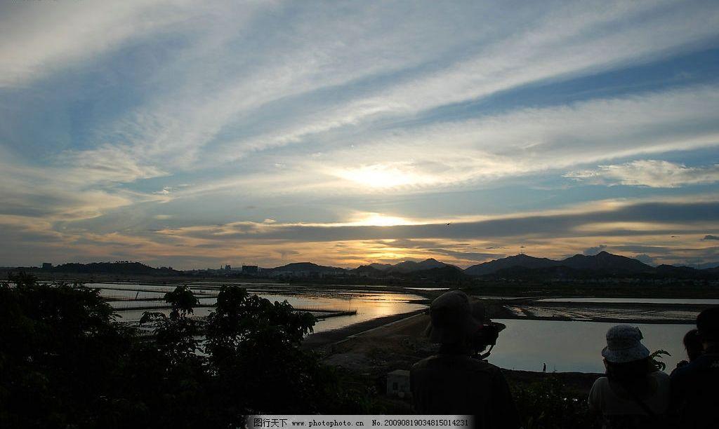 摄影图库 自然景观 自然风景  晚霞 大自然 景观 景象 天空 云彩 山脉