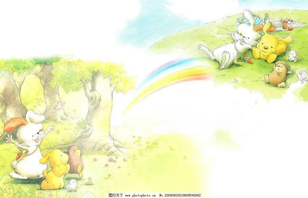 卡通背景图片 儿童 卡通 背景图 动漫动画 其他 设计图库 72dpi jpg