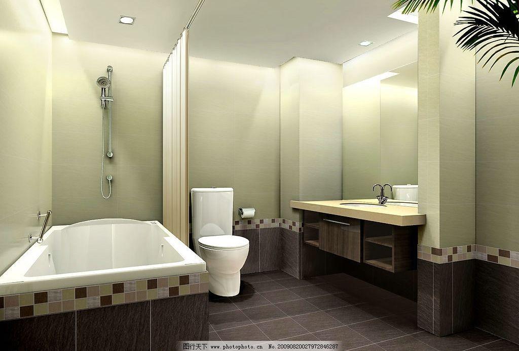 卫生间效果图               现代风格设计 环境设计 室内设计 家装设