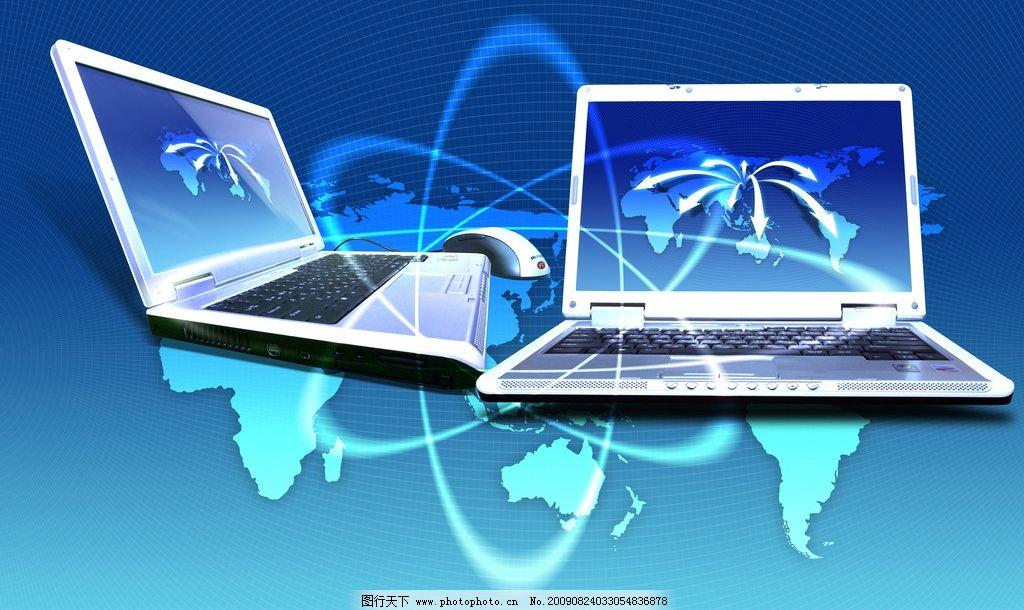 电脑抽象线条 笔记本 psd分层素材 psd分层素材 源文件 72dpi