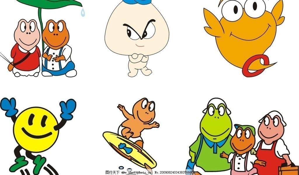 小青蛙 cdr 小动物 其他生物 生物世界 矢量 cdr