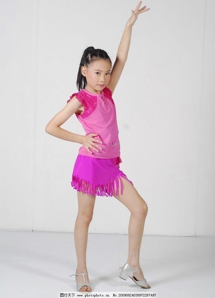 少儿舞蹈 儿童 拉丁舞 舞蹈音乐 文化艺术 摄影 96dpi jpg