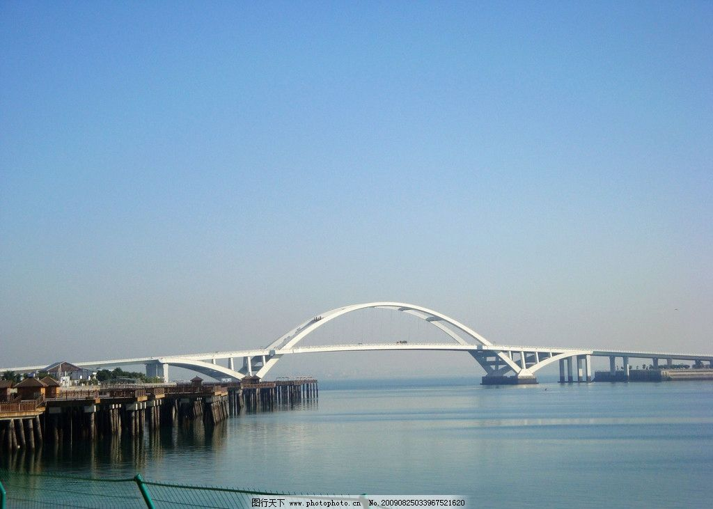 大桥 河流 拱桥 江河 建筑风景 水面 国内旅游 旅游摄影 72dpi jpg