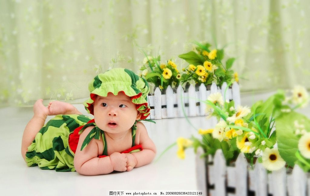 可爱宝宝百日照baby01图片