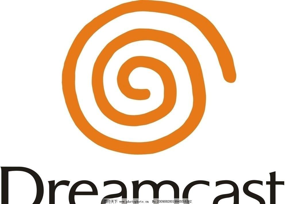 世嘉dc游戏机logo dreamcast