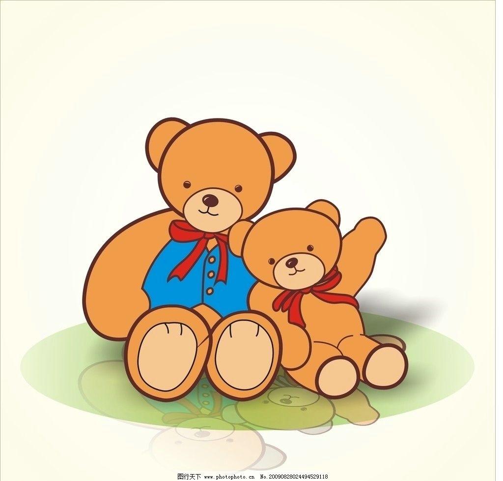 小熊 矢量小熊 野生动物 生物世界 cdr