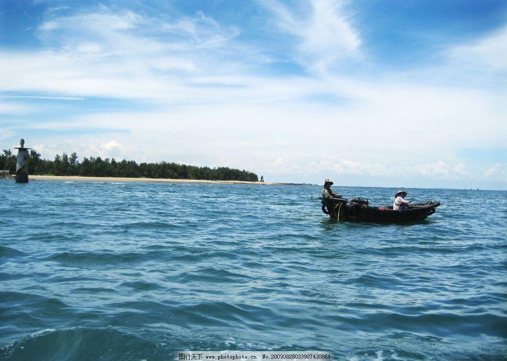 广西防城港海边2 企沙 大海 渔船 国内旅游 旅游摄影 180dpi jpg