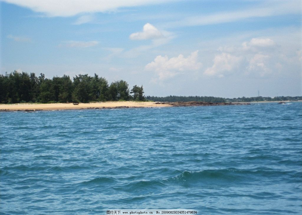广西防城港海边 企沙 大海 国外旅游 旅游摄影
