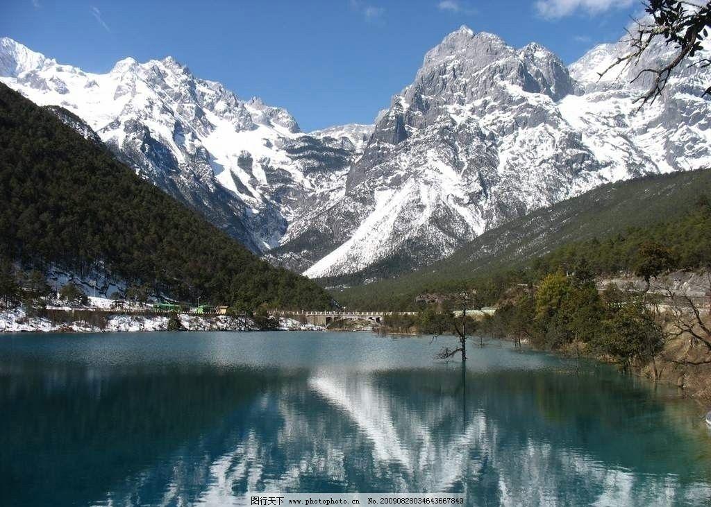 天池 新疆 乌鲁木齐 风景名胜 自然景观 摄影 72dpi jpg