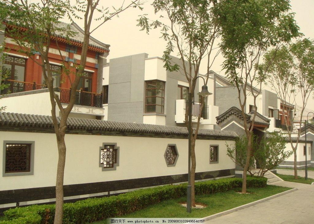 新中式设计 岭南 中国 建筑风格 楼盘外观设计 建筑摄影 建筑园林 72