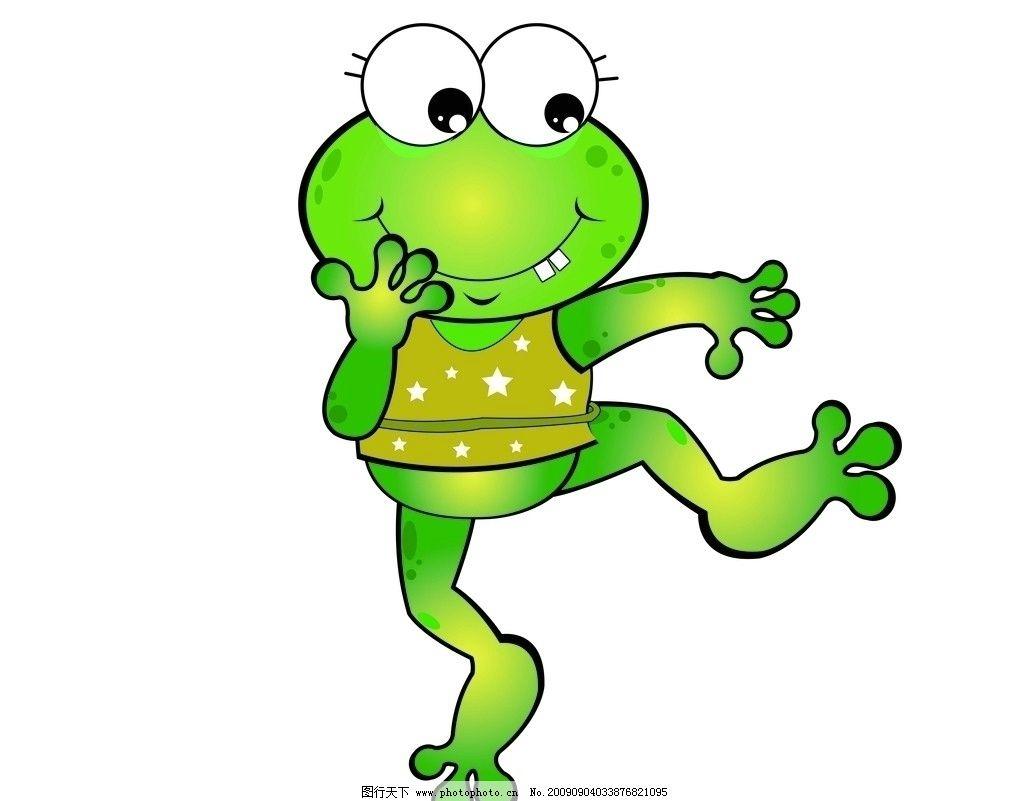 卡通 青蛙 小 动漫 漫画 可爱 跳舞 psd 吃 香蕉 分层素材 源文件库