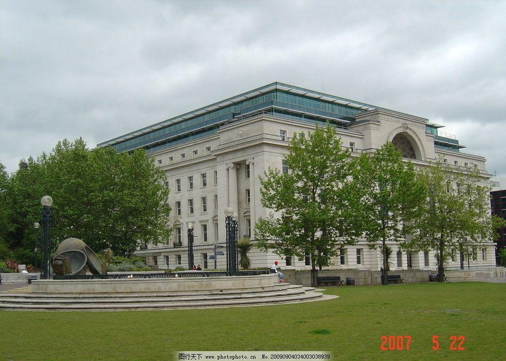欧式建筑 英国 伦敦 欧洲 london 国外 风景 旅游 公园 birmingham 树