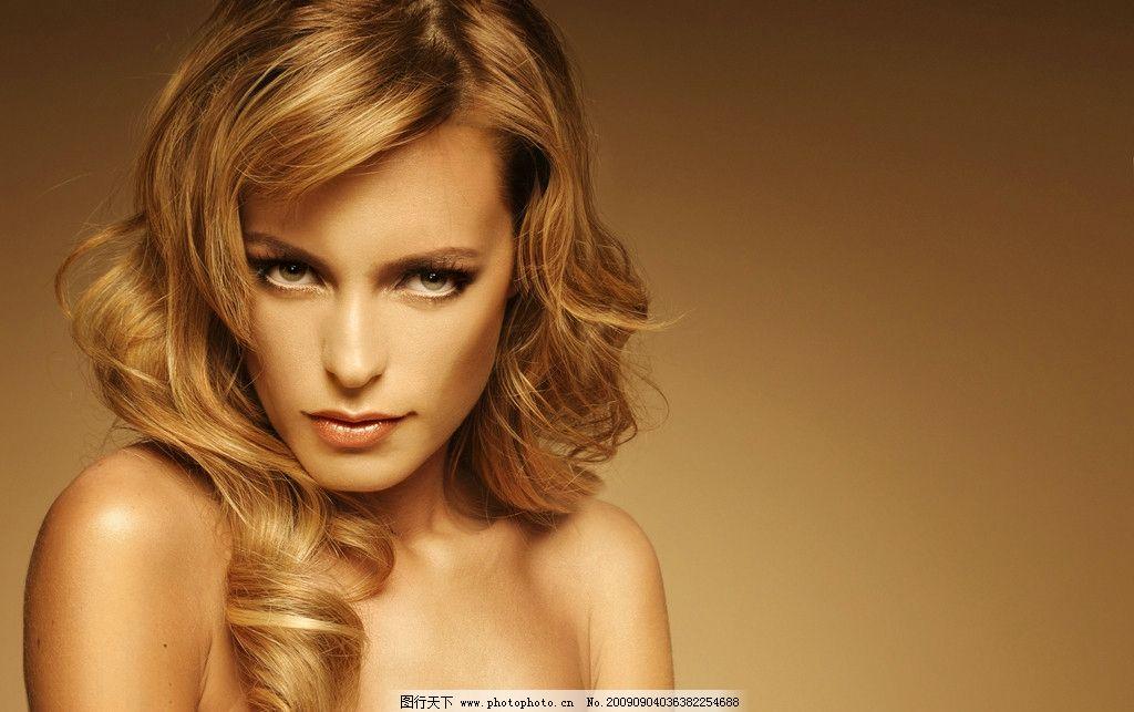 时尚发型 发型造型 发型系列 潮流发型 个性发型 发型模特 卷发图片