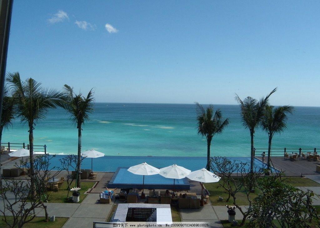海边度假 蓝天 白云 休闲 阳光 印度洋 巴厘 巴厘岛 国外旅游