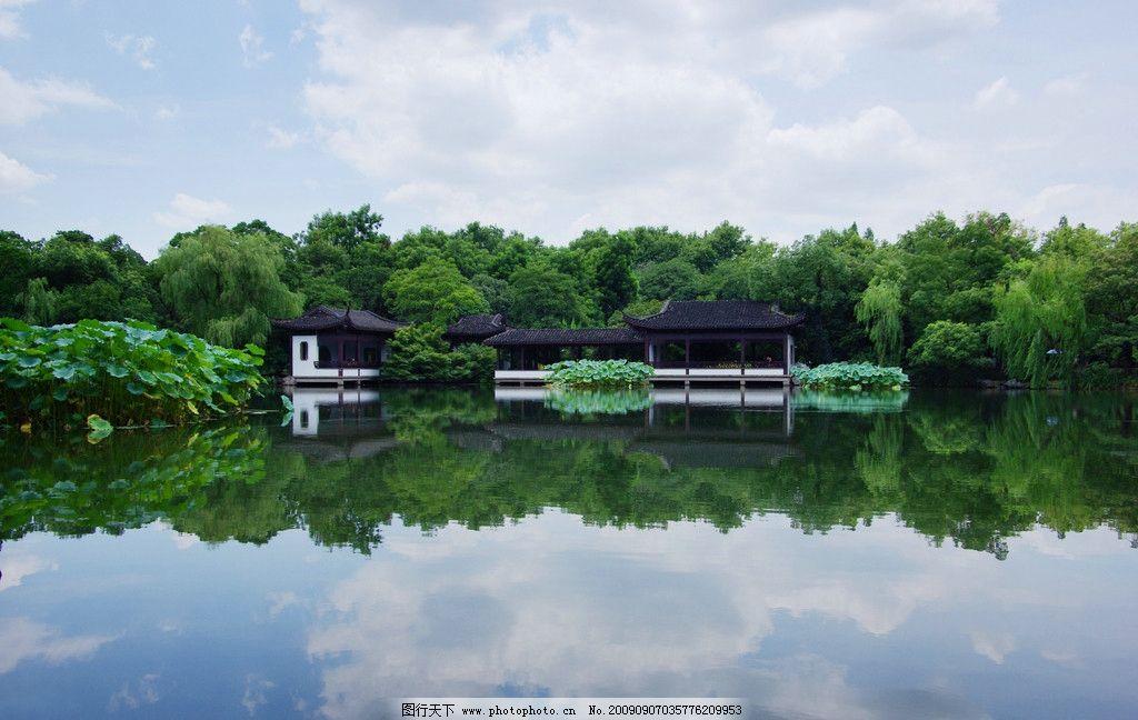 西湖风景图片
