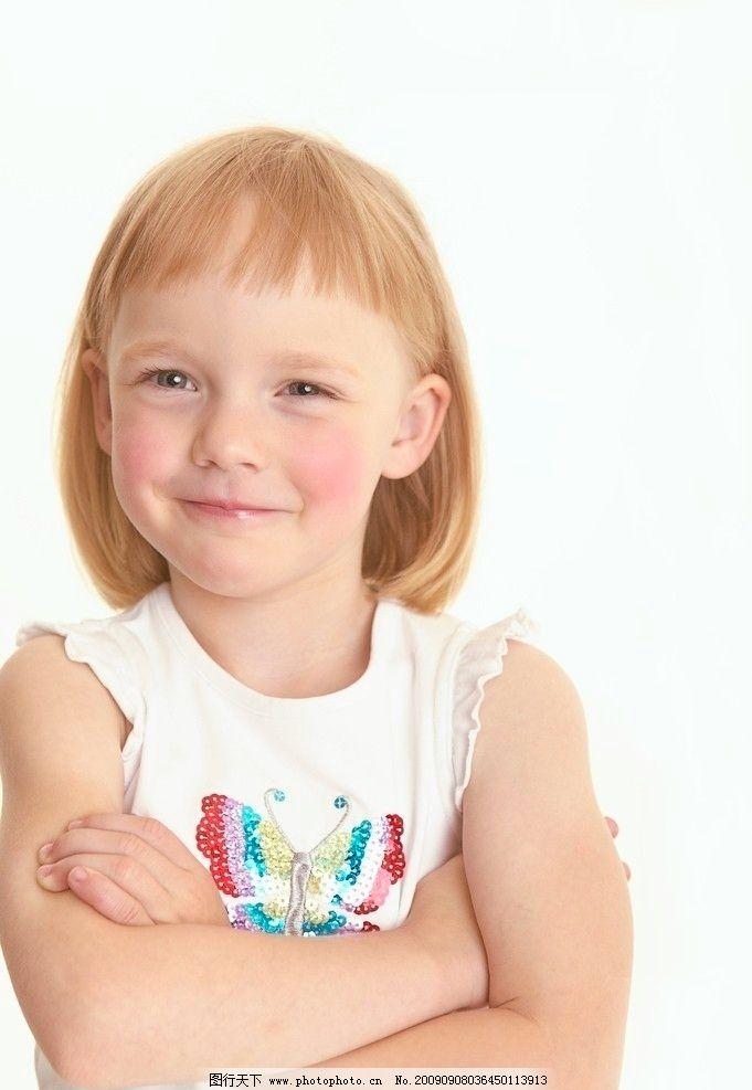 儿童 西方儿童 笑脸 插手 儿童幼儿 人物图库 摄影 300dpi jpg
