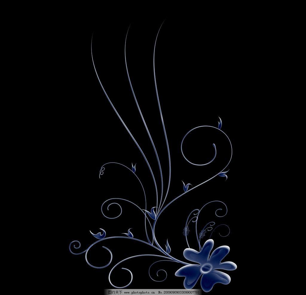 精美典雅花纹暗纹图片