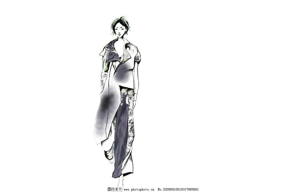 服装 服装设计 潮流 服装设计草图 个性 时尚 时尚服装 模特 动漫人物