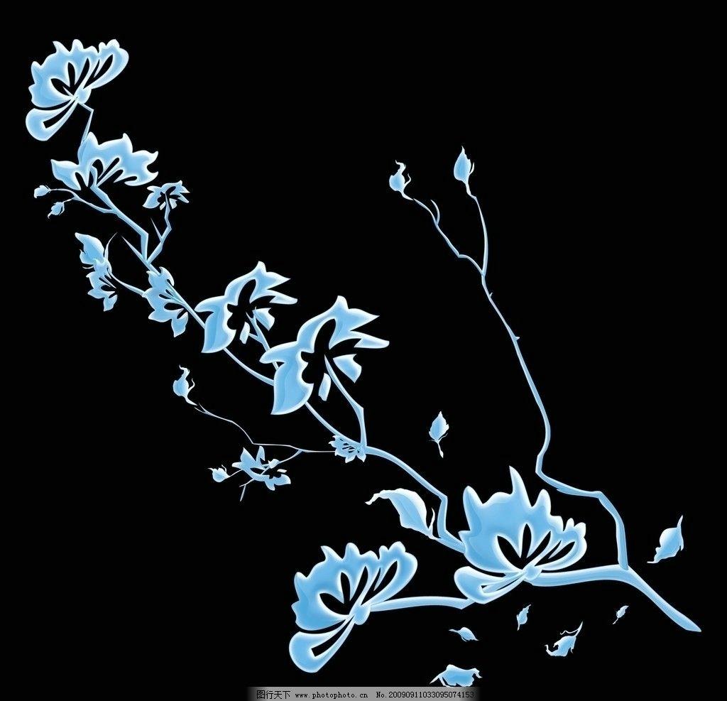 花纹暗纹 梦幻 边框 立体 线条 条纹 底纹素材 时尚 浪漫 高贵 树枝