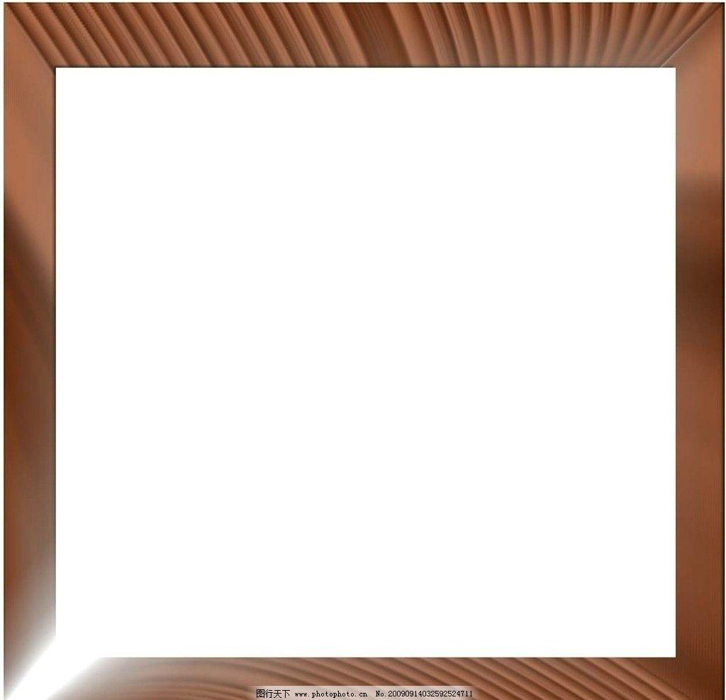 透明地板木纹 照片 边框 psd 相框模板 摄影模板 源文件 300dpi psd