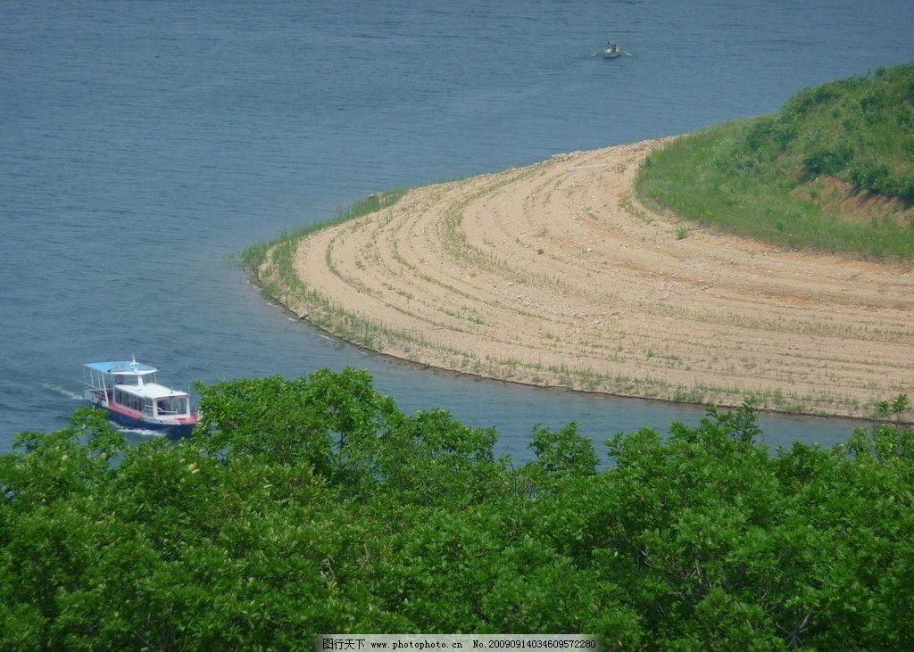 松花湖风光1 吉林 丰满 电站 水电站 水库 人工湖 湖心岛 沙洲
