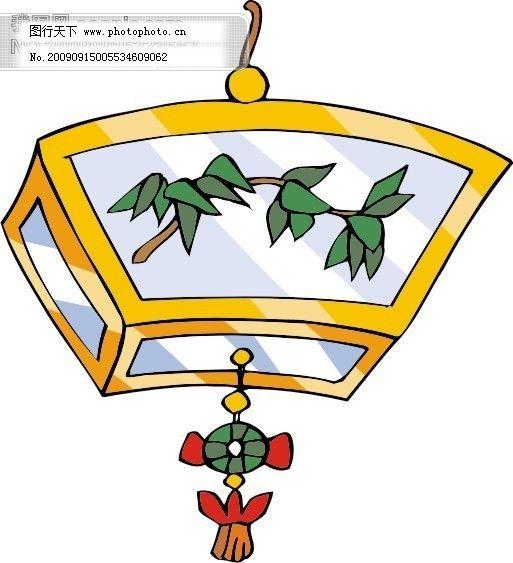传统灯笼矢量图5