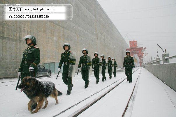 部队 城墙 党和国家领导人 风景画 军人 旅游摄影 绿叶 人文景观 摄影