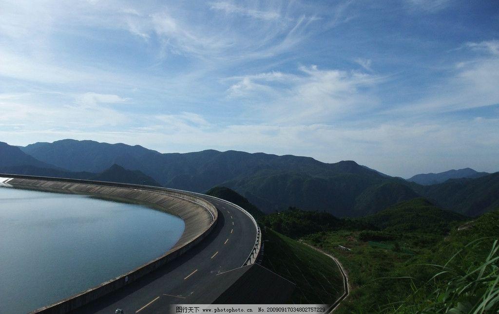 远山 江南天池 天空 蓝天 飘渺 风景 自然风景 自然景观 摄影