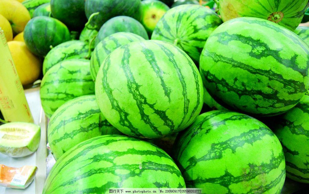 西瓜简笔画 蔬菜