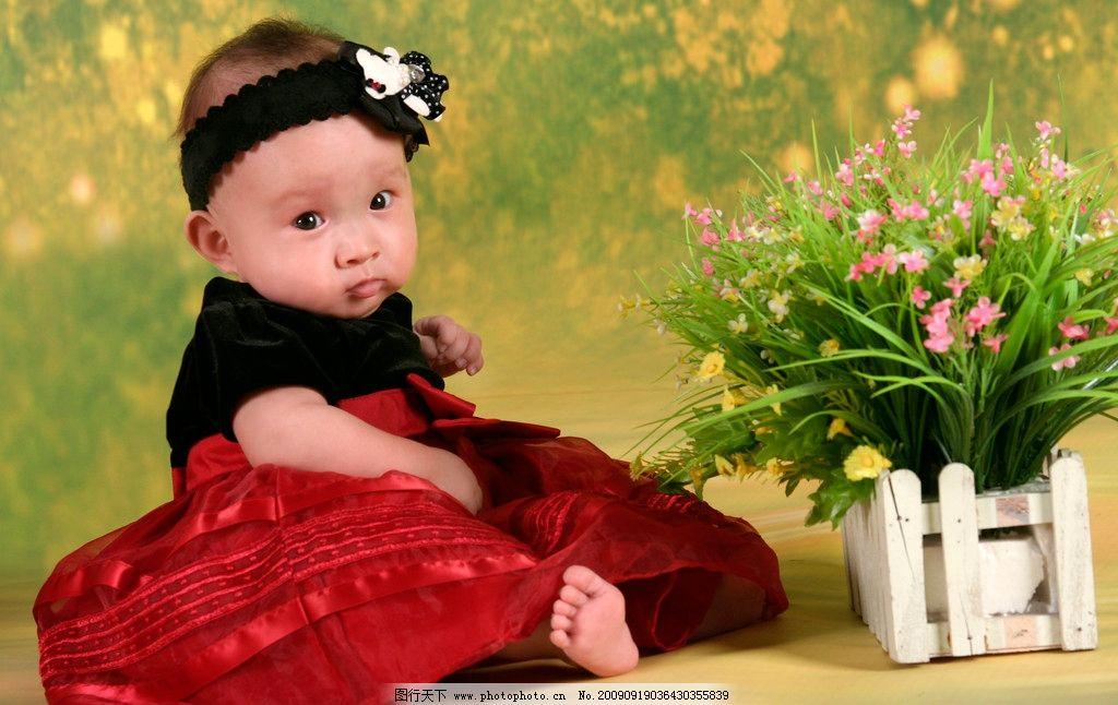 宝宝粉红色 幼儿 婴儿 可爱 娃娃 宝宝摄影 儿童幼儿 人物图库 72dpi