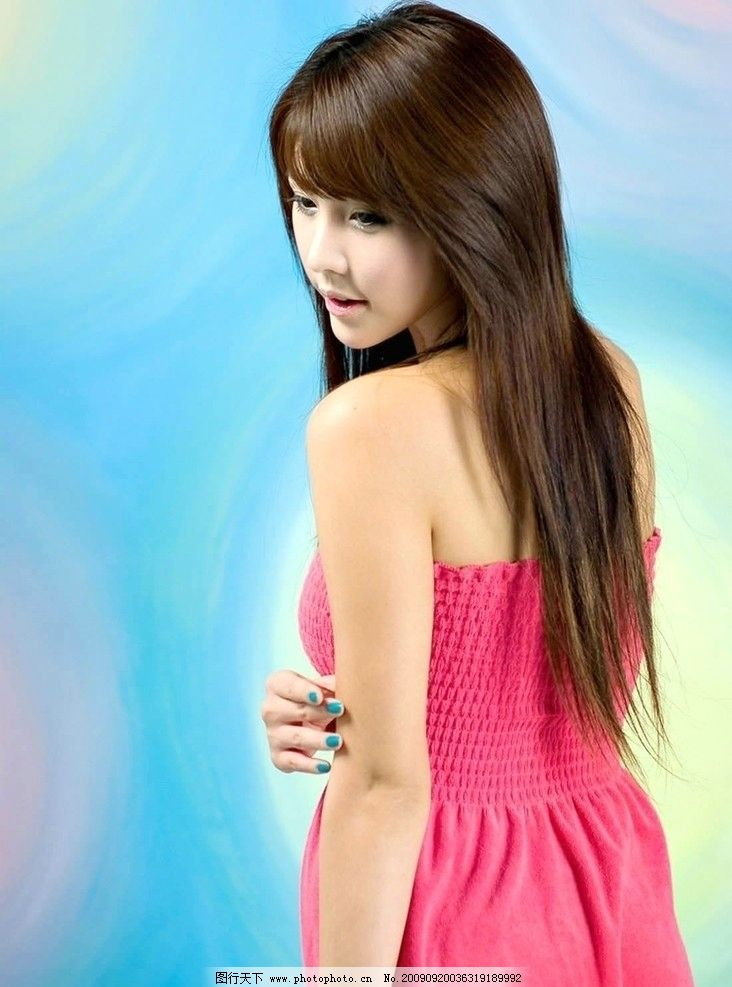 李智友 车模 明星 美女 女人 漂亮 女生 可爱 大眼美女 微笑