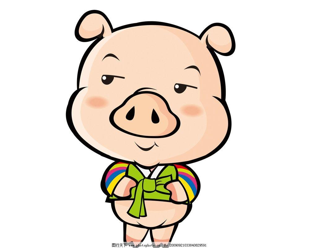 卡通 猪图片