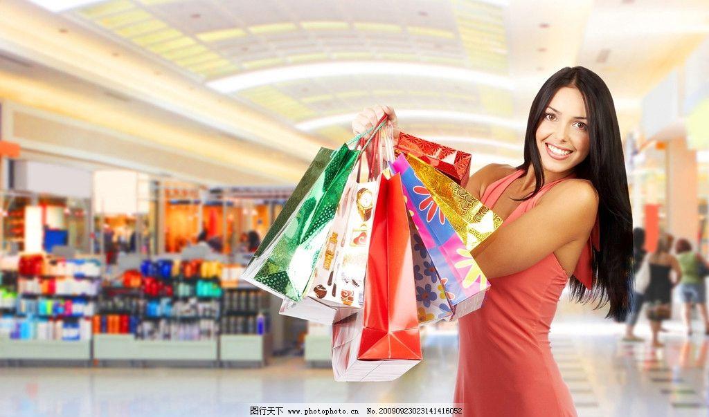 女人 购物/女人 人物购物图片