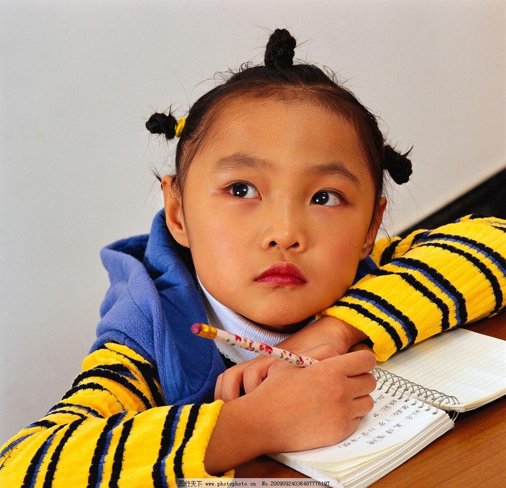 可爱的小姑娘 儿童 少女