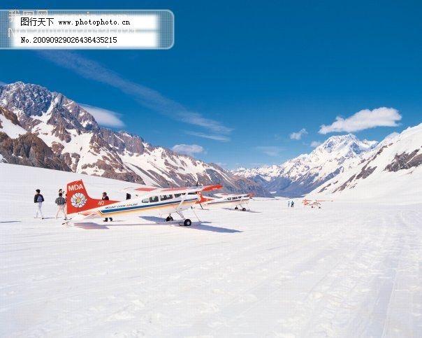雪 加拿大 雪 山 蓝天 摄影图 旅游摄影 国外旅游 图片素材 风景生活