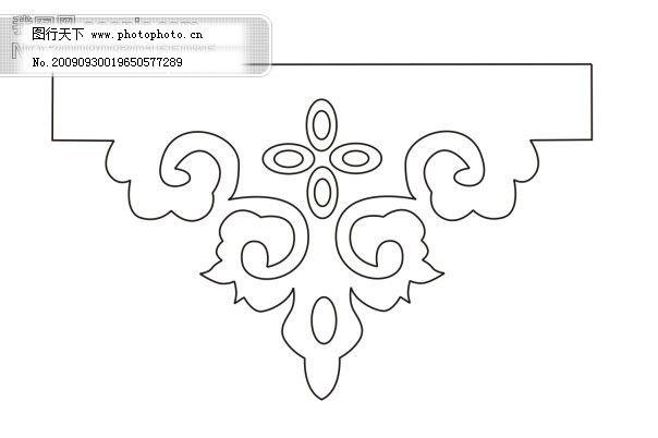 传统文化图片 设计图 文化艺术 纹样 传统花卉图案 纹样 设计图 文化